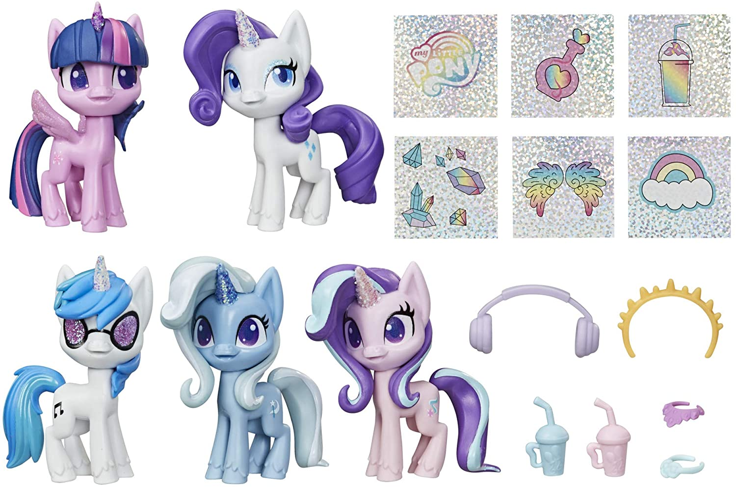 MLP Unicorn Sparkle Collection Figure Set 2