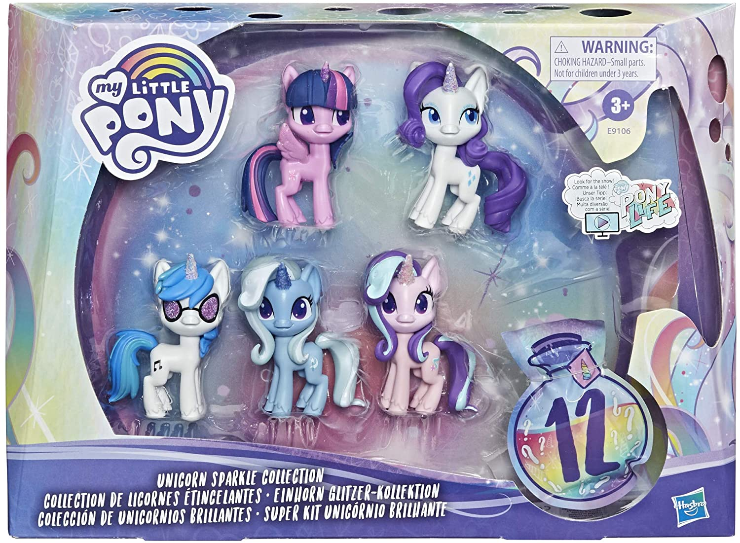 MLP Unicorn Sparkle Collection Figure Set 1