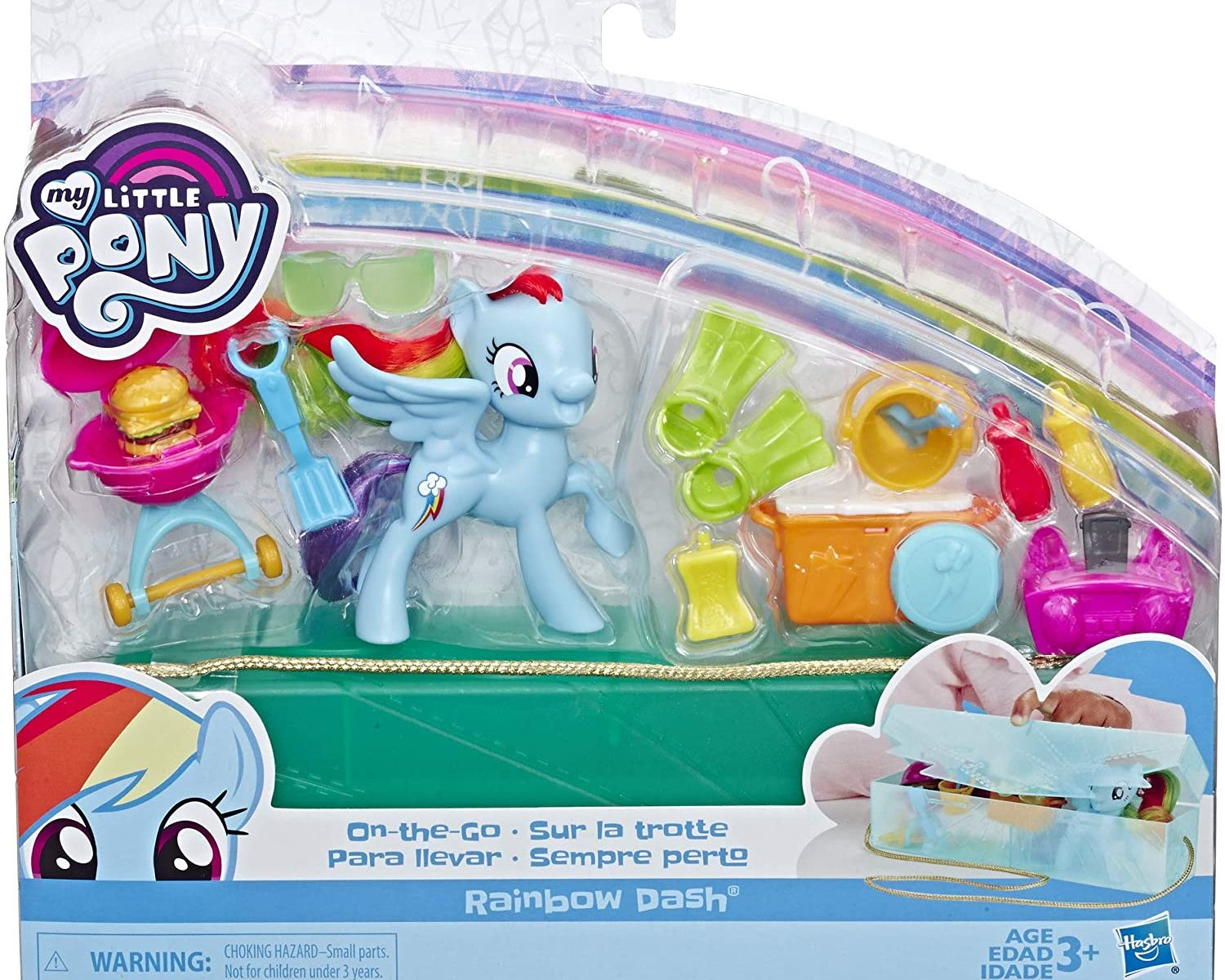MLP Rainbow Dash On-The-Go Figure Set 1