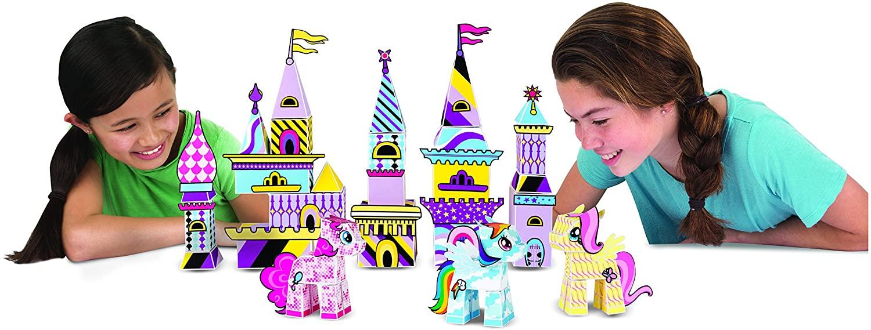 MLP Fold Your Own Paper Pony Castle Set 2