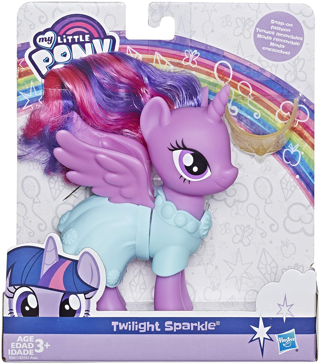 MLP Princess Twilight Sparkle Snap-on Fashion Figure 1