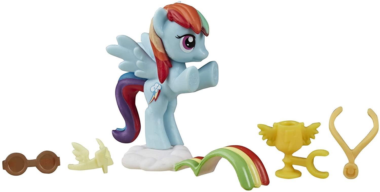 MLP Rainbow Dash Loves to Race Mini Set 2