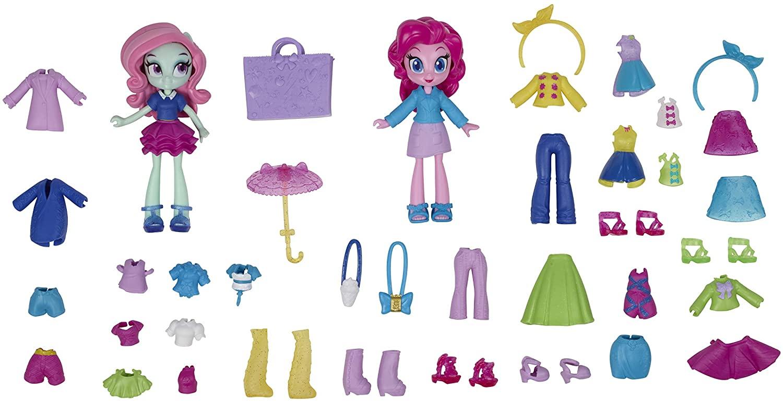 EG Fashion Squad Pinkie Pie and Minty Mini Doll Figure Set 2