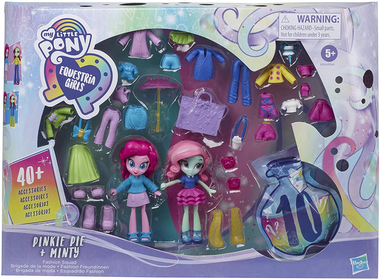 EG Fashion Squad Pinkie Pie and Minty Mini Doll Figure Set 1