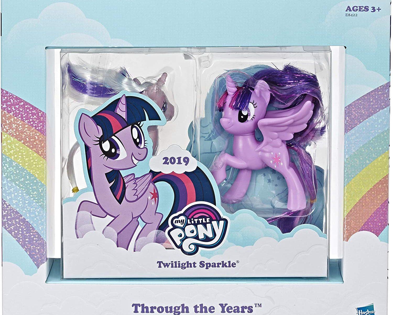 MLP Princes Twilight Sparkle Through The Years Figure Set 2