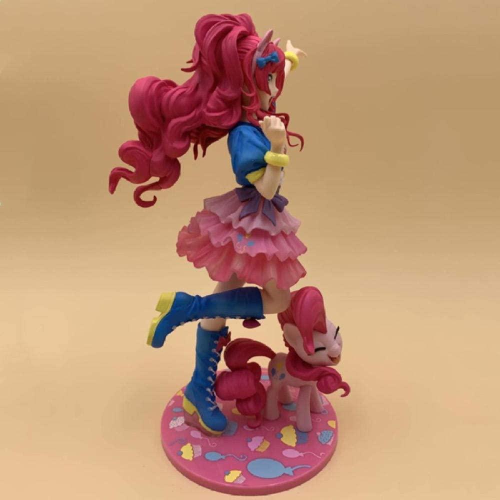 MLP Pinkie Pie PVC Doll Statue Set 2