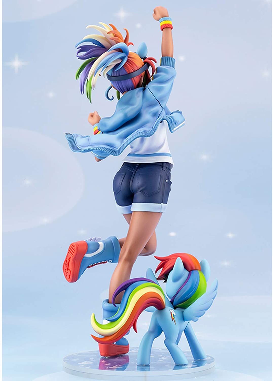 MLP Rainbow Dash PVC Doll Statue Set 3