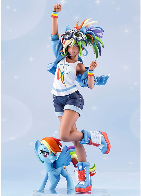 MLP Rainbow Dash PVC Doll Statue Set 1
