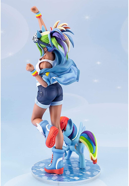 MLP Rainbow Dash PVC Doll Statue Set 2