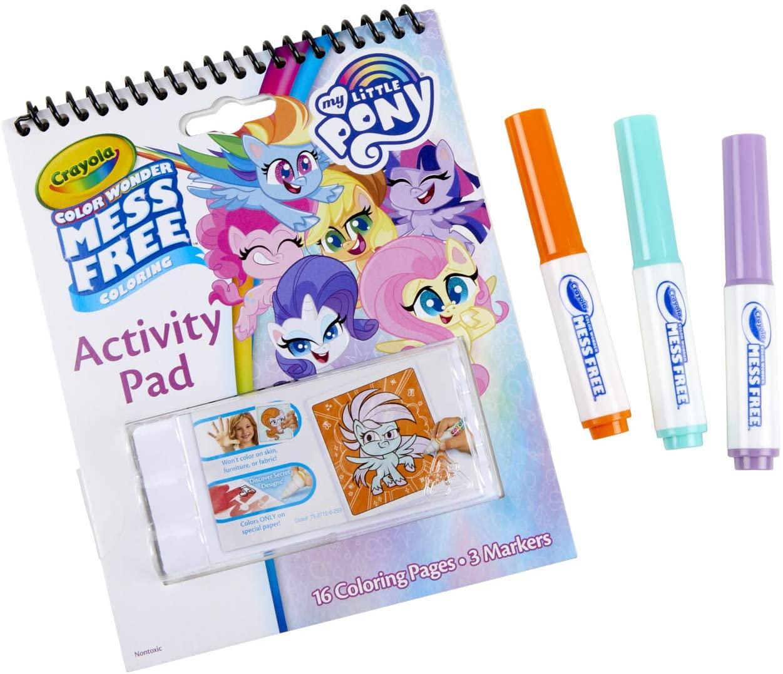 MLP: PL Crayola Color Wonder Activity Pad 3