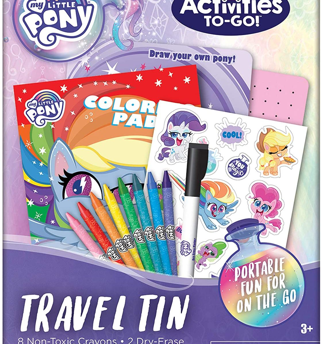 MLP: PL Activities To-Go Travel Tin Set 1