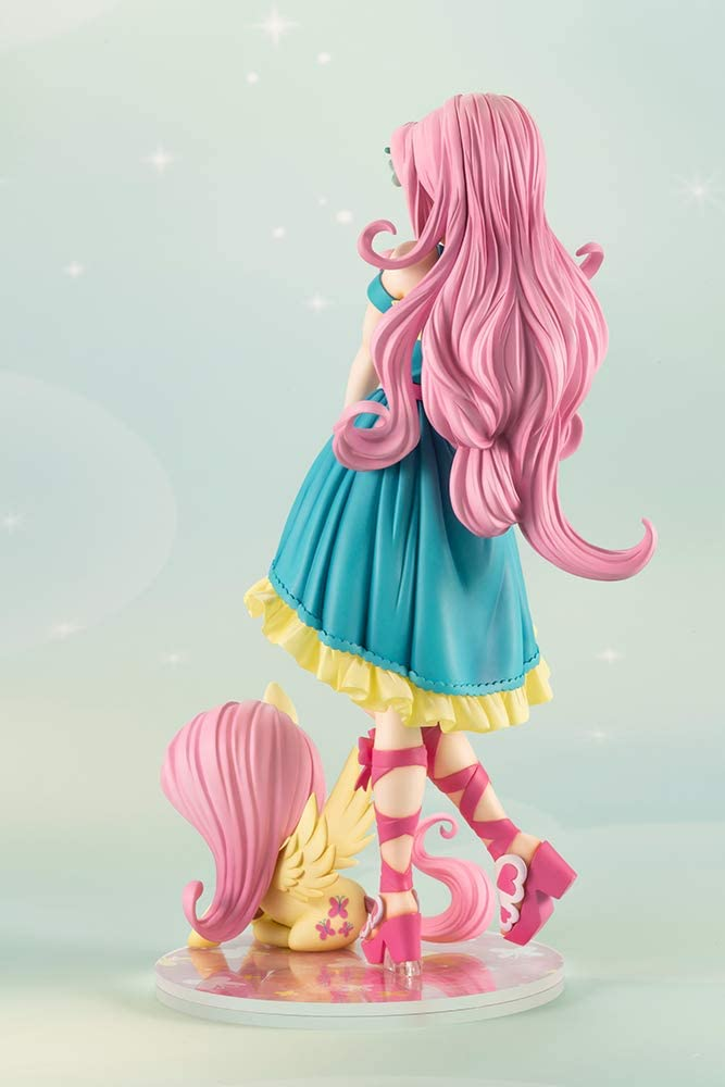 MLP Fluttershy PVC Doll Statue Set 3