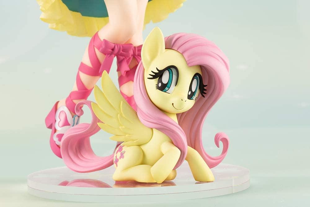 MLP Fluttershy PVC Doll Statue Set 5