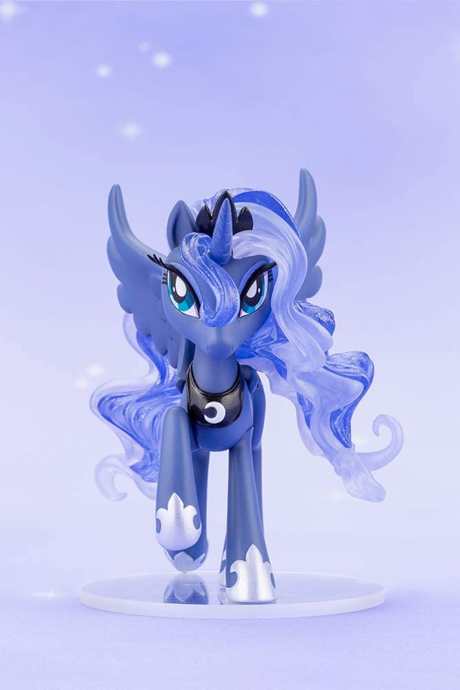 MLP Princess Luna PVC Doll Statue Set 4