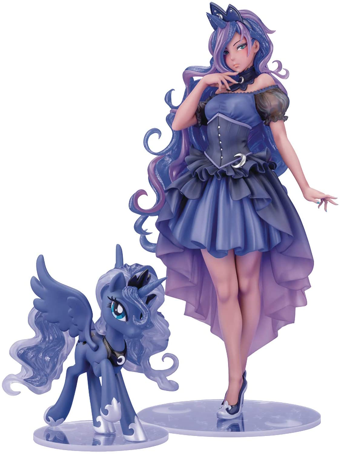 MLP Princess Luna PVC Doll Statue Set 1