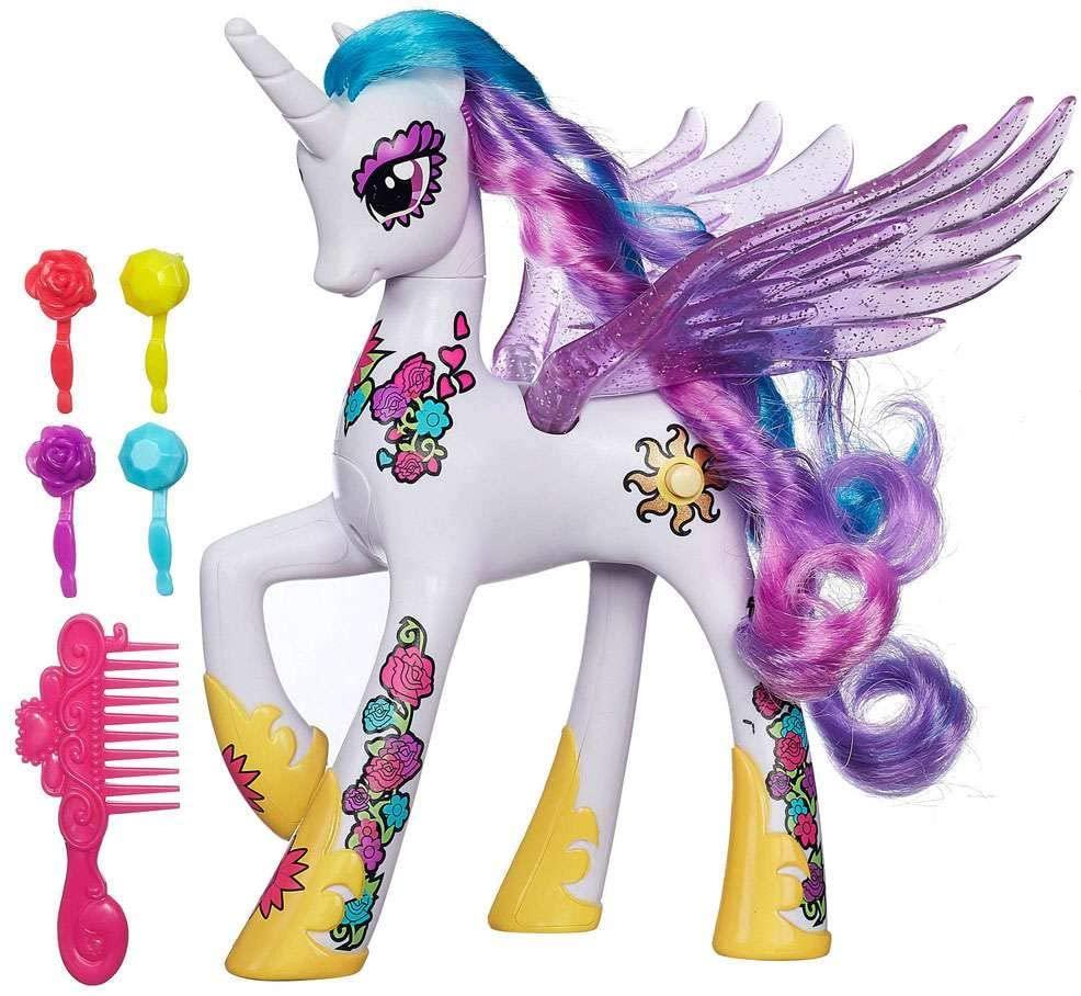 MLP Cutie Mark Magic Princess Celestia Figure 2
