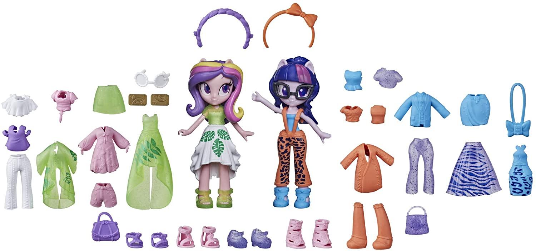 EG Twilight Sparkle and Princess Cadance Fashion Squad Figure Doll Set 2
