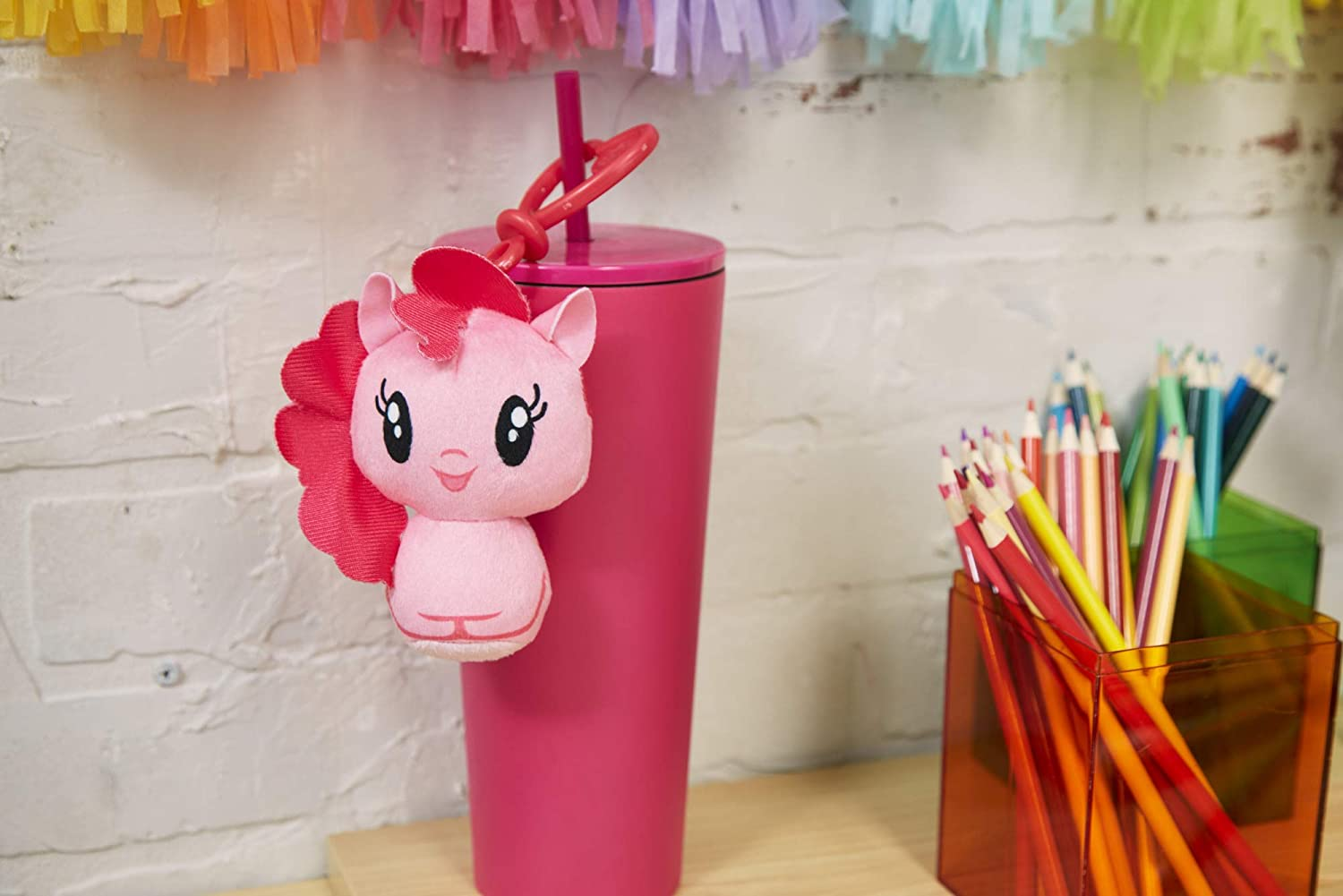 MLP Cutie Mark Crew Pinkie Pie Pony Plush Toy Clip 3