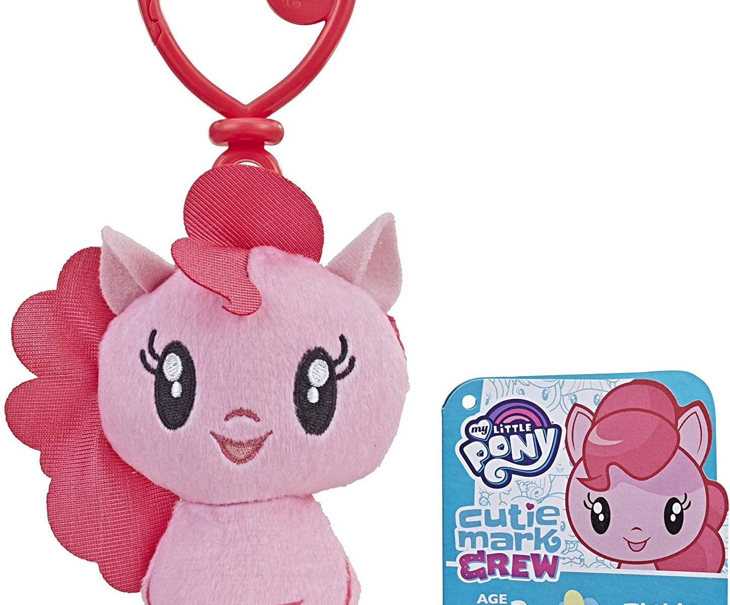 MLP Cutie Mark Crew Pinkie Pie Pony Plush Toy Clip 1