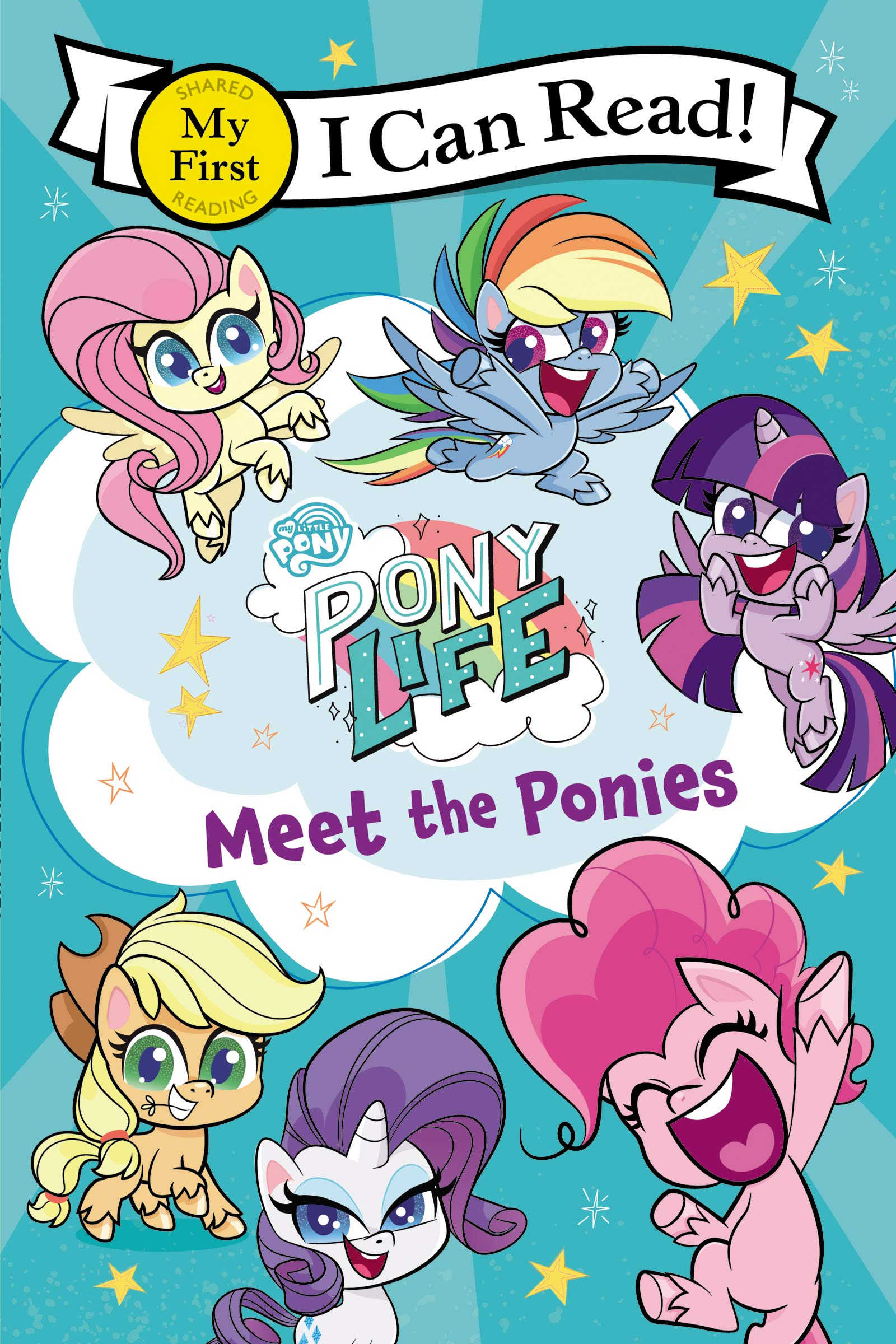 MLP: PL Meet the Ponies Book