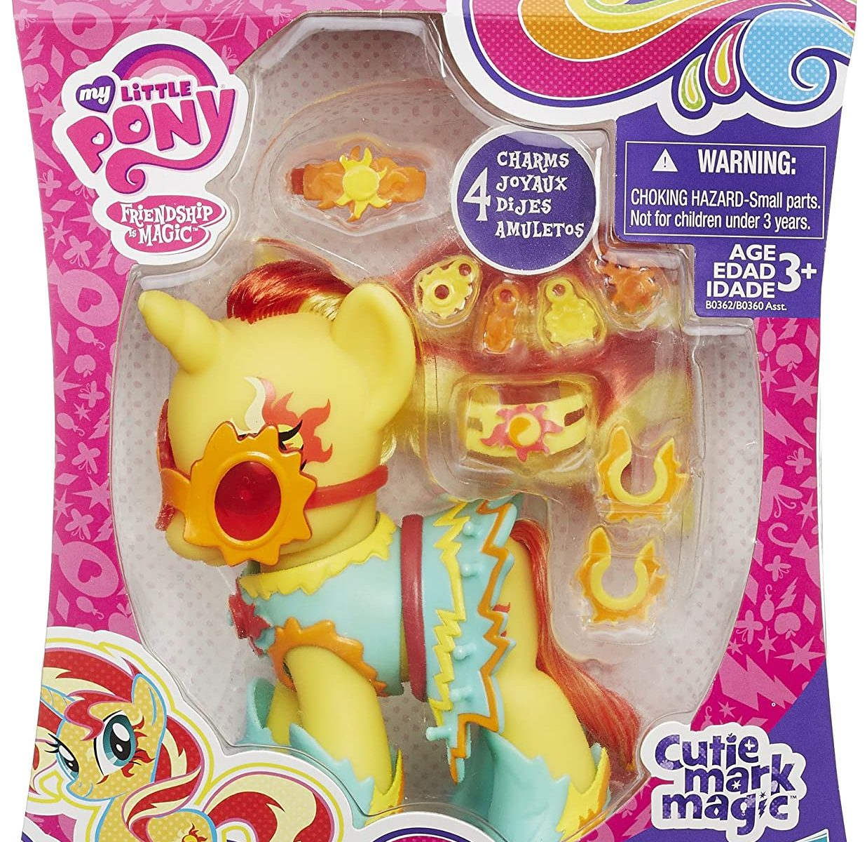 MLP Fashion Style Sunset Shimmer Figure 1