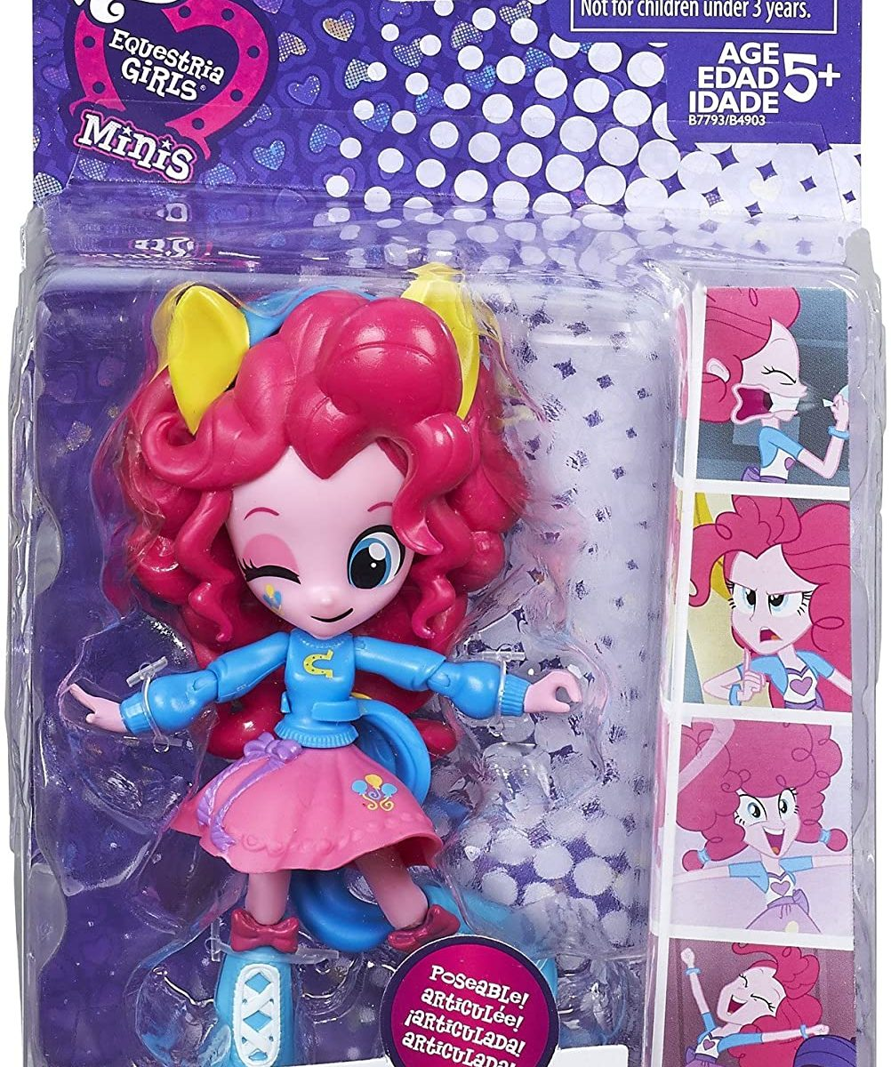 EG School Spirit Pinkie Pie Mini Doll Figure 1