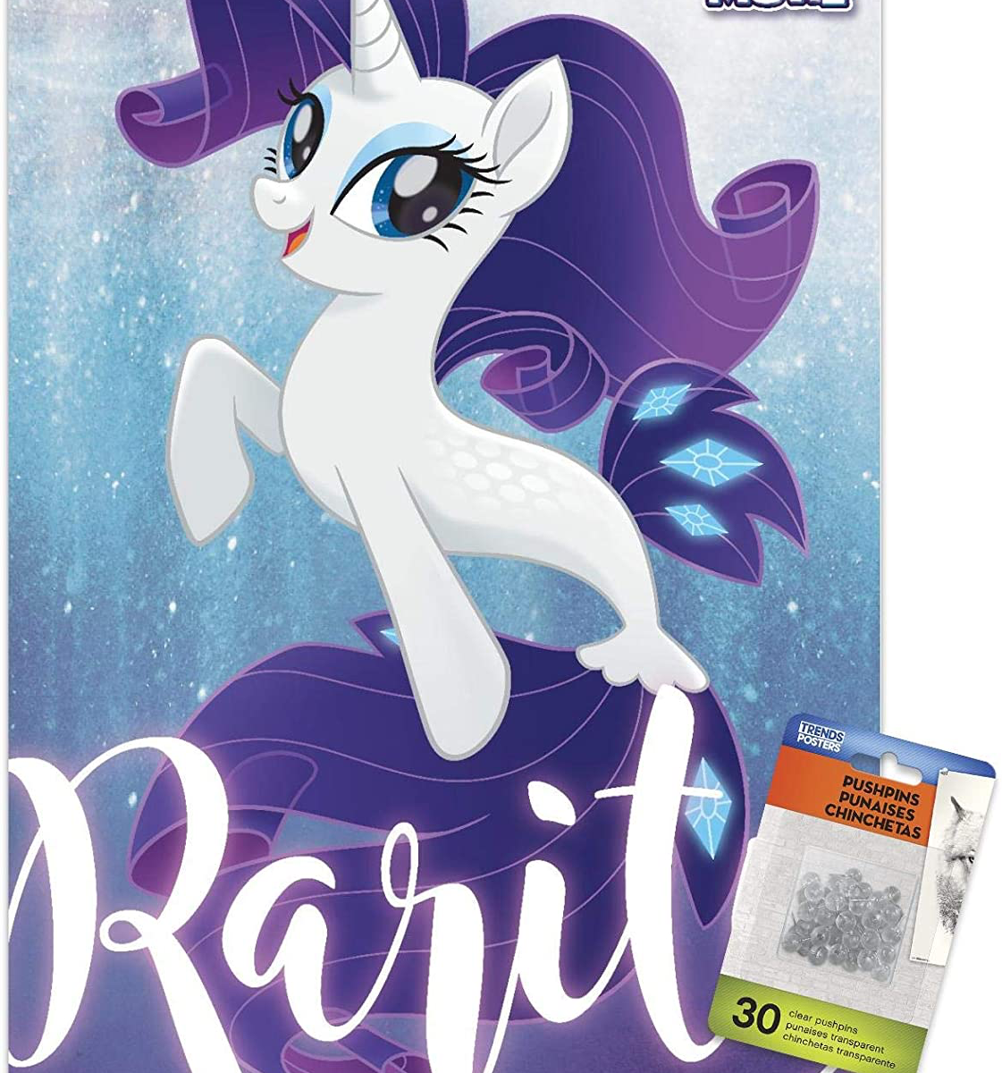 MLP: TM Rarity Seapony Wall Poster 1