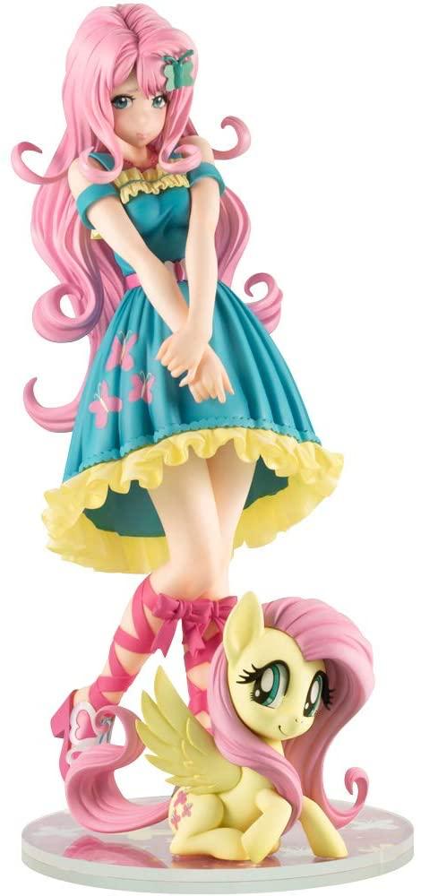 MLP Fluttershy PVC Doll Statue Set 1