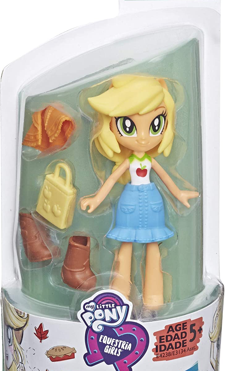 EG Fashion Squad Applejack Mini Doll Figure 1