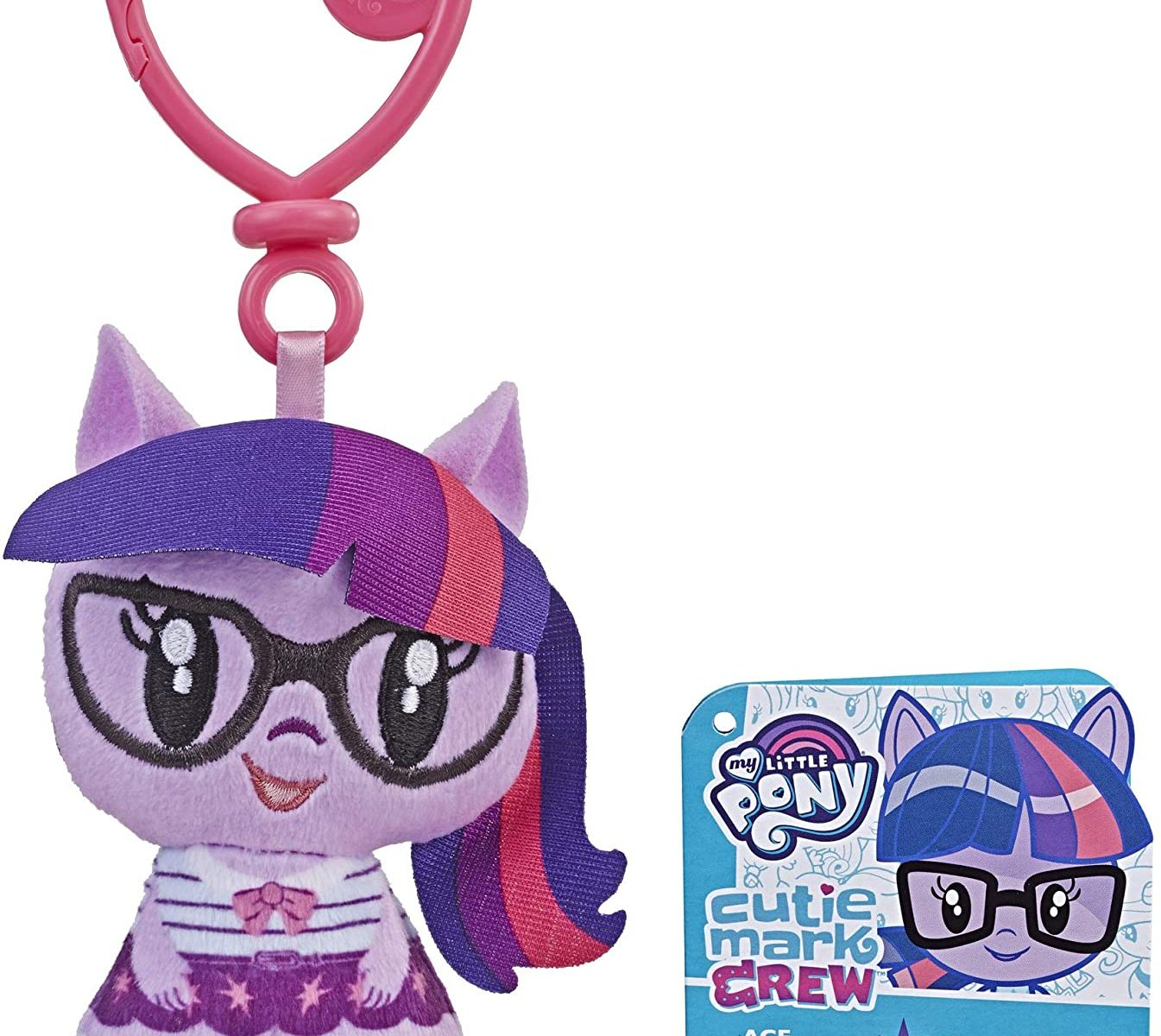 EG Cutie Mark Crew Twilight Sparkle Plush Toy Clip 1