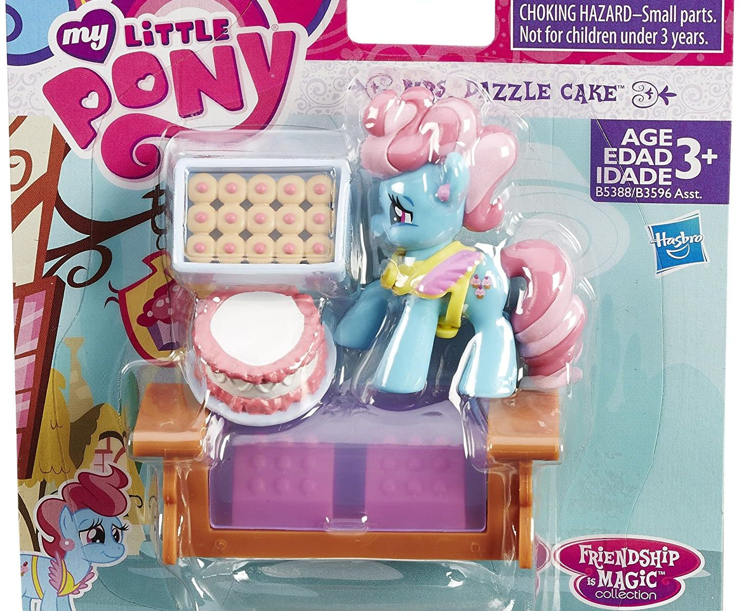 MLP Mrs Dazzle Cake Play Set 1