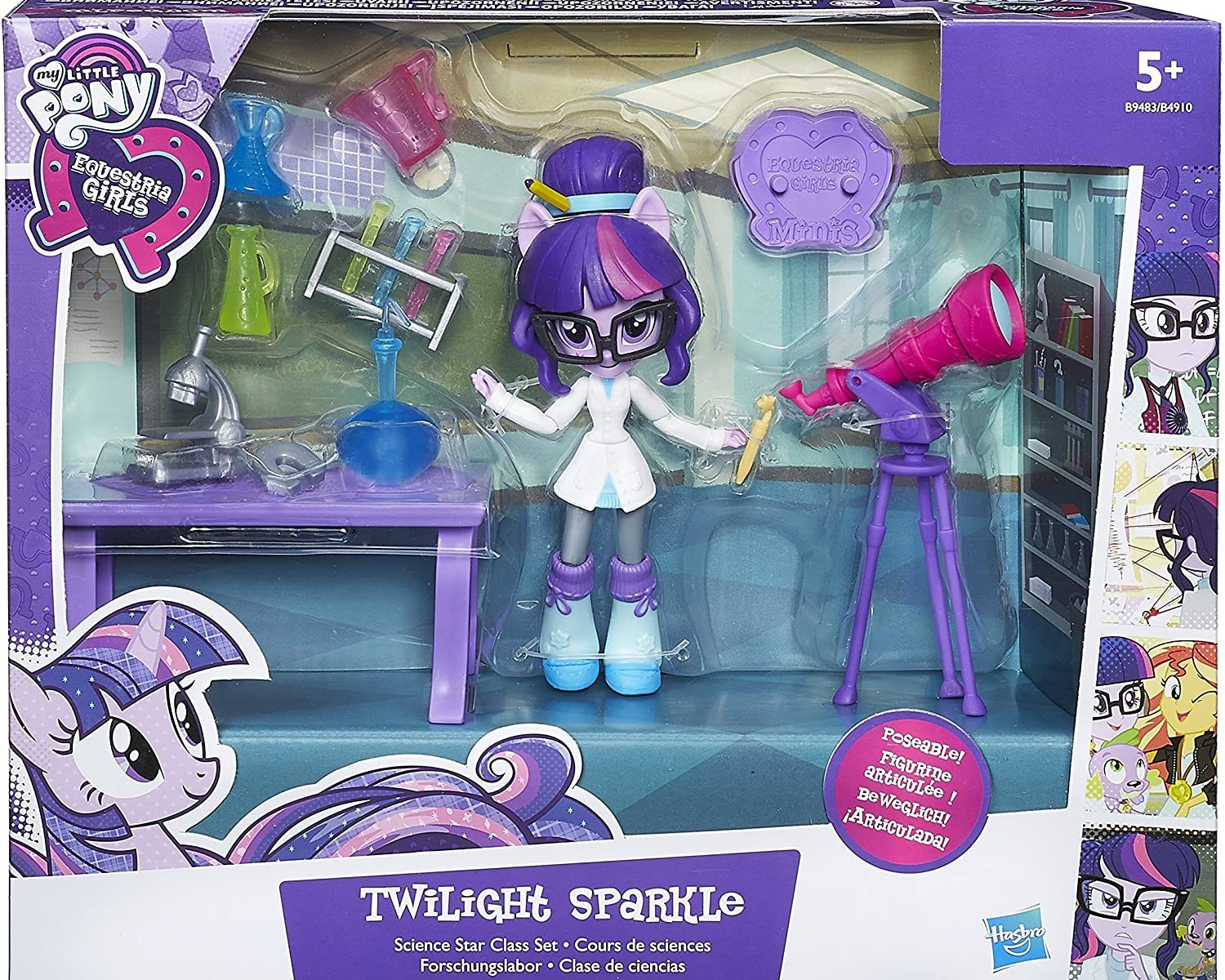 EG Minis Twilight Sparkle Figure Science Star Class Set 1