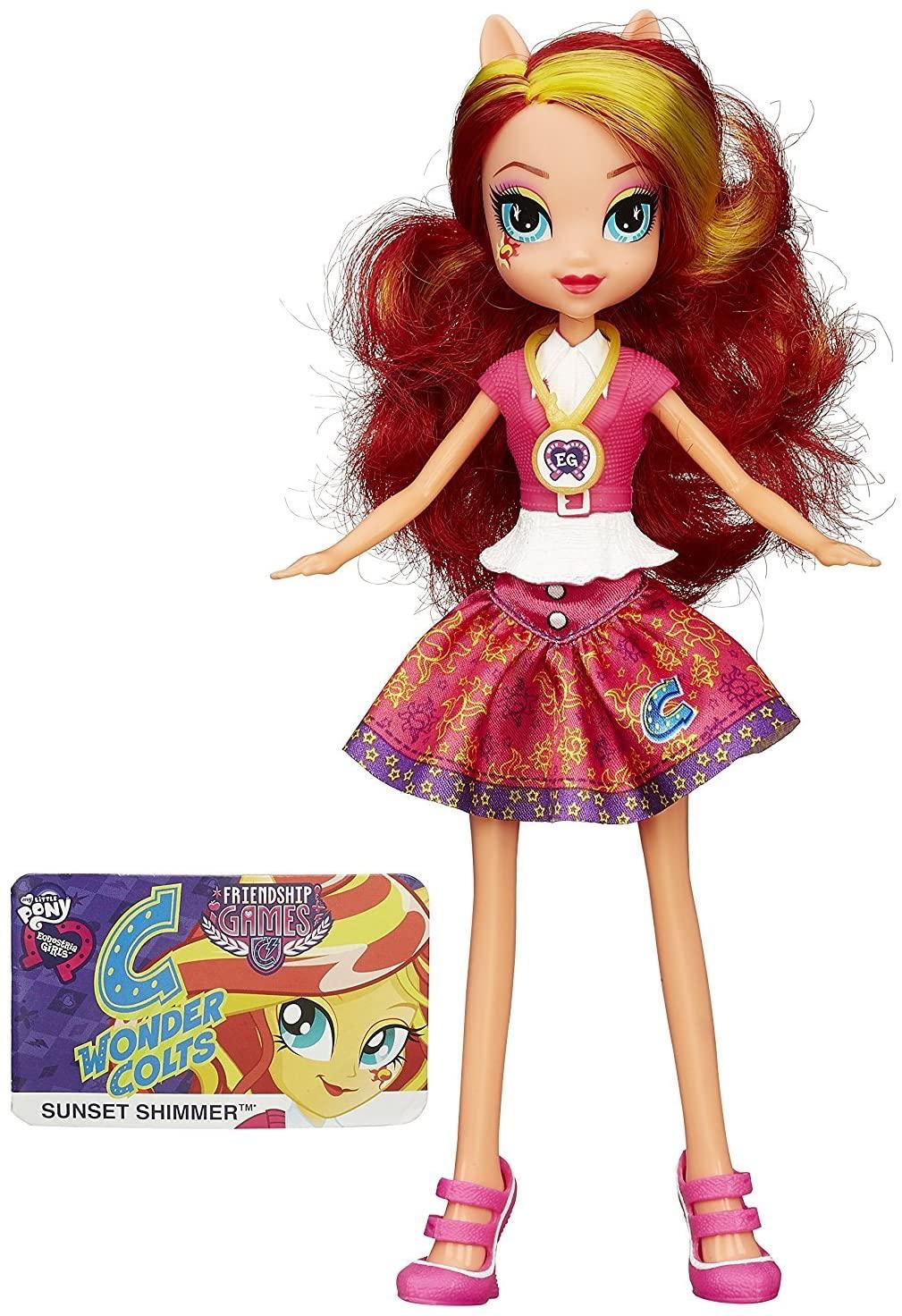 EG FG Sunset Shimmer Figure Doll 2