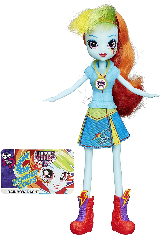 EG Rainbow Dash Friendship Games Doll 2