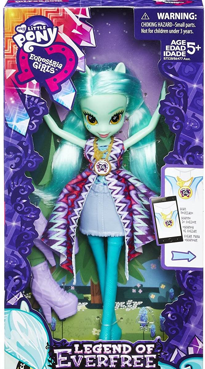 EG Legend of Everfree Lyra Heartstrings Figure Doll 1