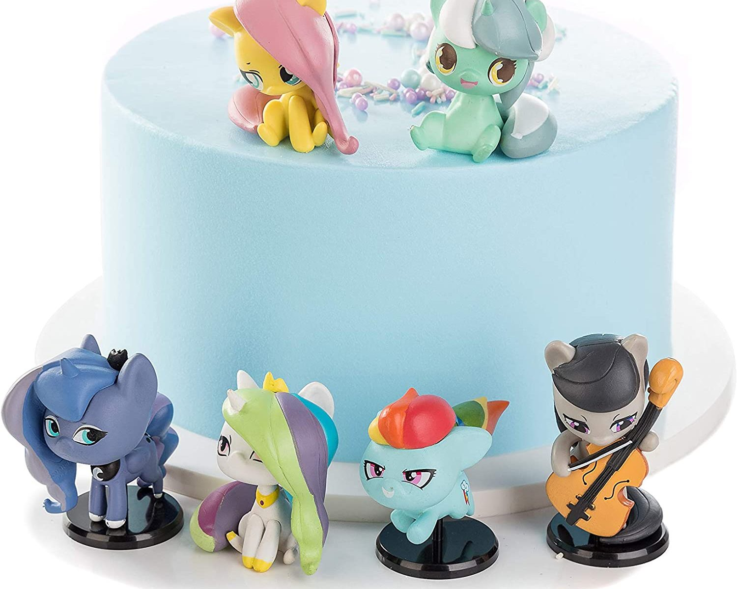 MLP Cake Topper Character Figure 5-pack 1