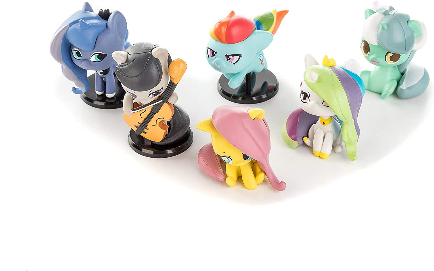 MLP Cake Topper Character Figure 5-pack 2