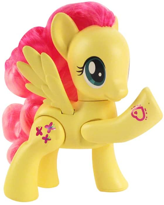 MLP Fluttershy Secret Movement Doll Figure
