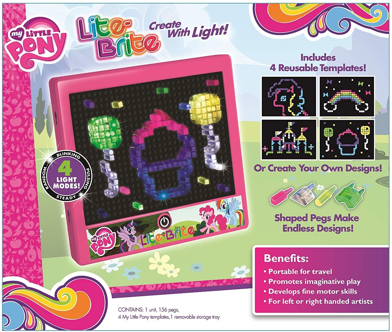 MLP Lite-Brite Magic Screen Toy 2