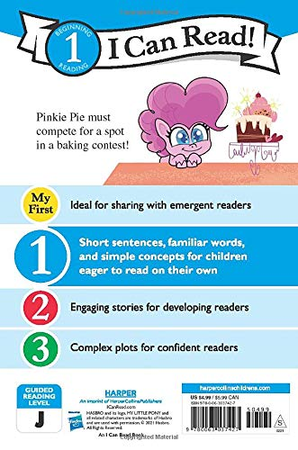 MLP: PL Royal Bake-Off (I Can Read Level 1) Book 2