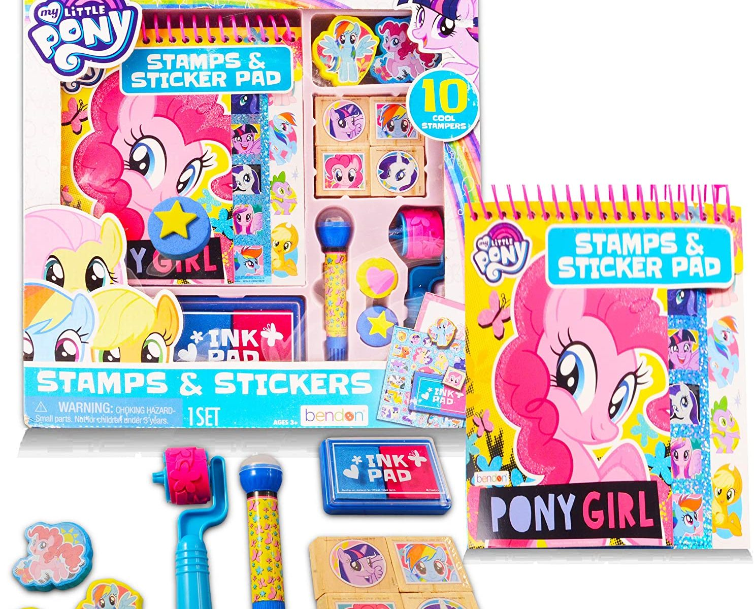 MLP Stickers and Stamps Activity Set