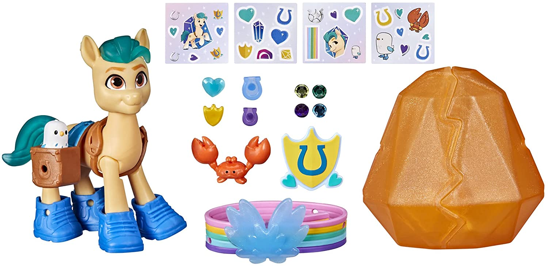 MLP: ANG Hitch Trailblazer Crystal Adventure Figure Set 3