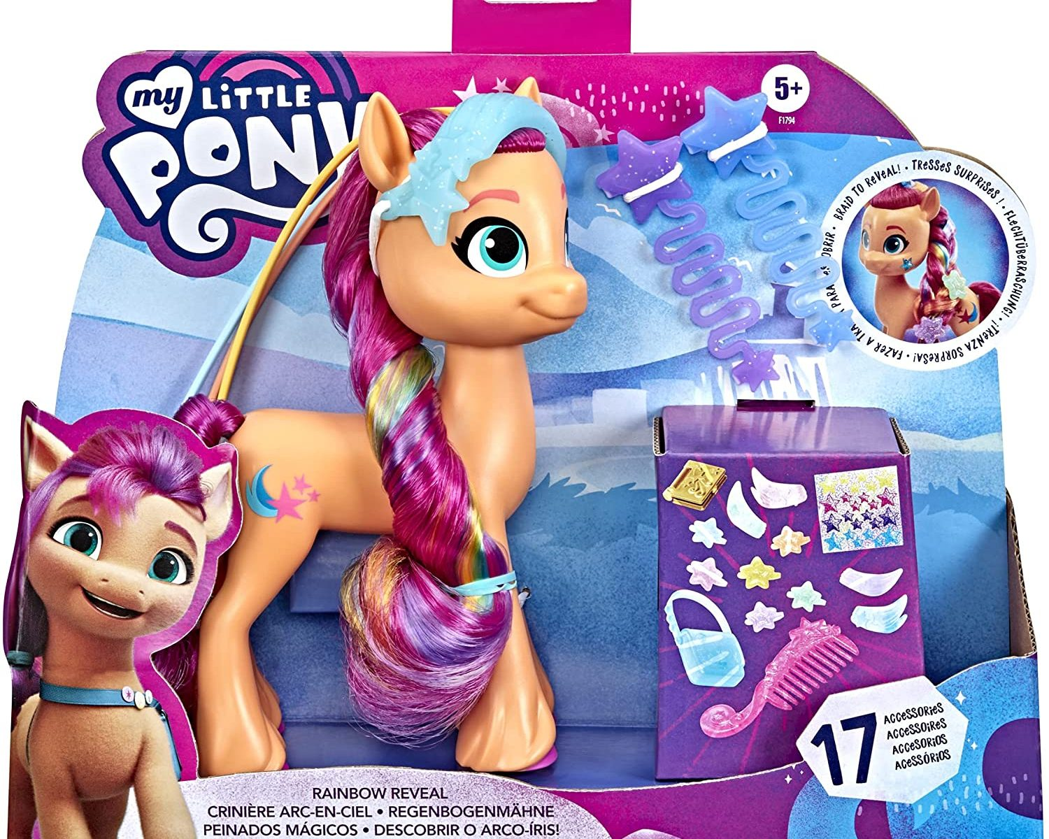 MLP: ANG Sunny Starscout Rainbow Reveal Figure 1
