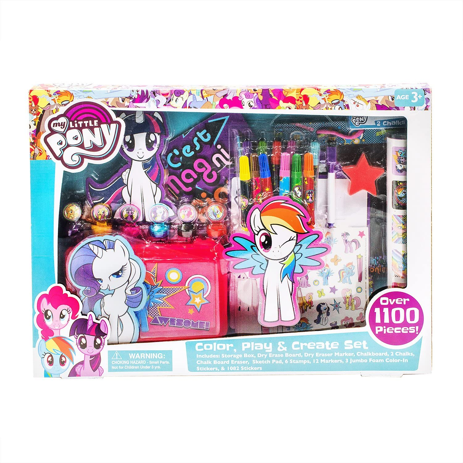 MLP Color, Play, and Create Set 1
